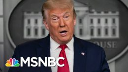 Trump Says COVID-19 Crisis Is 'Being Handled' As U.S. Sets A New Case Record | The 11th Hour | MSNBC 9