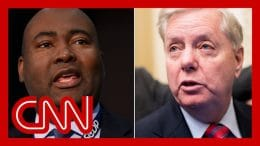 Lindsey Graham ad shows image of opponent with altered skin tone 7