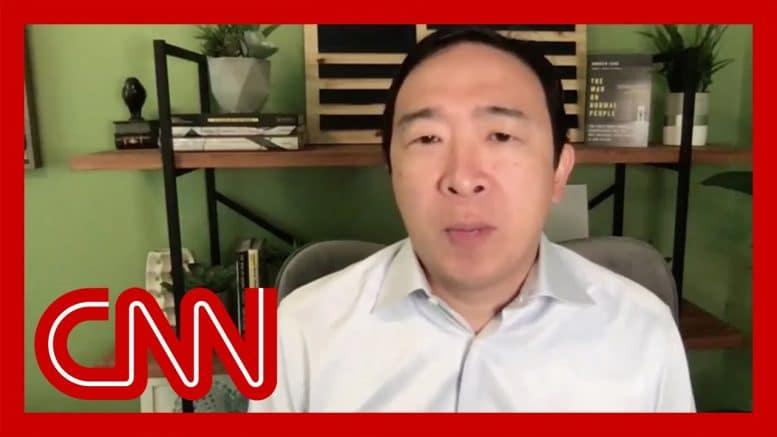 Andrew Yang reacts to President Trump's tweet about election delay 1