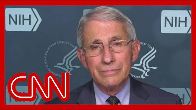 Dr. Fauci gives his thoughts on another potential lockdown 1