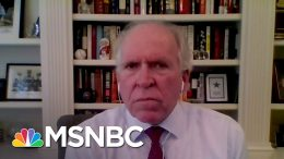 Former CIA Director Says Trump 'Unfit For This High-Esteemed Office'   Deadline   MSNBC 5