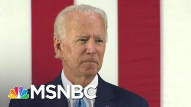 Former VP Joe Biden: Trump Has 'Surrendered' To The Threat Of Coronavirus | MSNBC 1