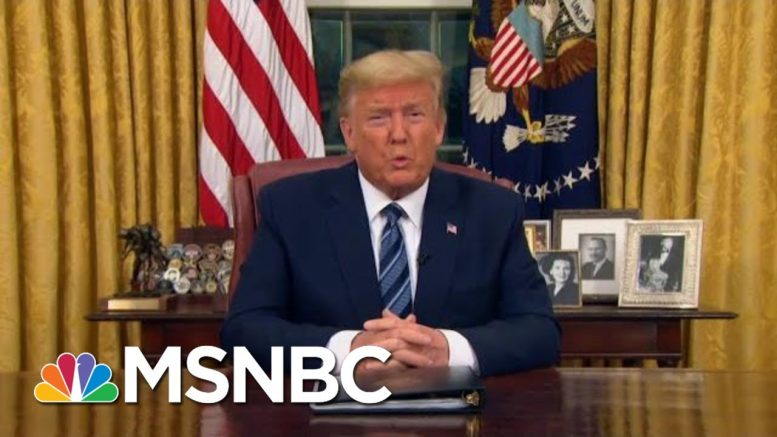 As COVID Hampers Trump's Re-Election, GOP Allies Demand He Wear A Mask   MSNBC 1