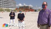Florida Mayors: Beaches Are Open But 'We Don't Want You To Come' | Hallie Jackson | MSNBC 5