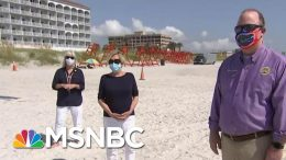 Florida Mayors: Beaches Are Open But 'We Don't Want You To Come' | Hallie Jackson | MSNBC 8
