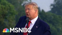 Trump Campaign 'Encourages' Masks At Next Rally | MSNBC 7