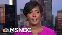 Atlanta Mayor On Voter Suppression: Georgia Sec. Of State Refuses To Accept Reality | All In | MSNBC 9