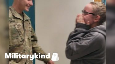 Mom and Army son team up to prank his kid sister | Militarykind 6