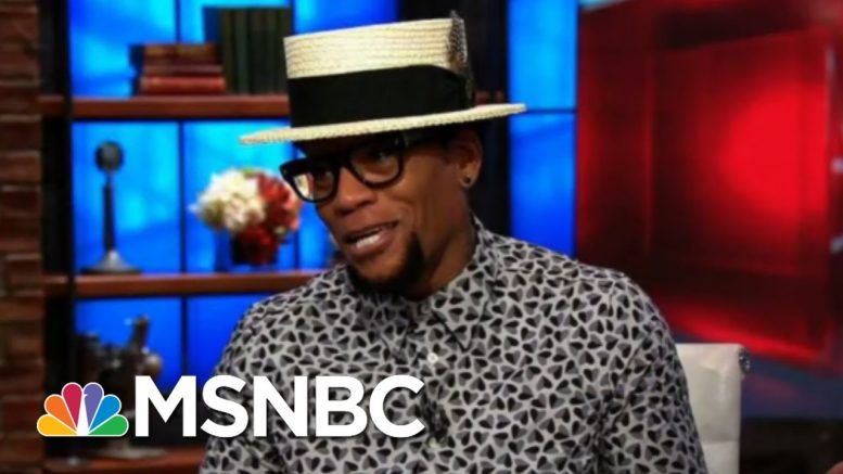 Comedian D.L. Hughley On COVID-19 Diagnosis, New Book | Morning Joe | MSNBC 1