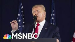 Trump Doubles Down On Politics Of Racial Division | Andrea Mitchell | MSNBC 1