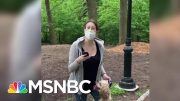 Amy Cooper Faces Charges After Calling Police On Black Bird Watcher In Central Park   MSNBC 2