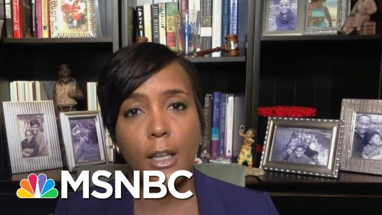 Atlanta Mayor On Testing Positive For Coronavirus: 'This Is Startling For Me' | MSNBC 1