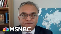 Dr. Ashish Jha: 'We Should Get Rid Of Indoor Large Gatherings' | The Last Word | MSNBC 8