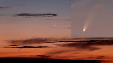 A new comet will be visible for early risers as it races closer to Earth 6