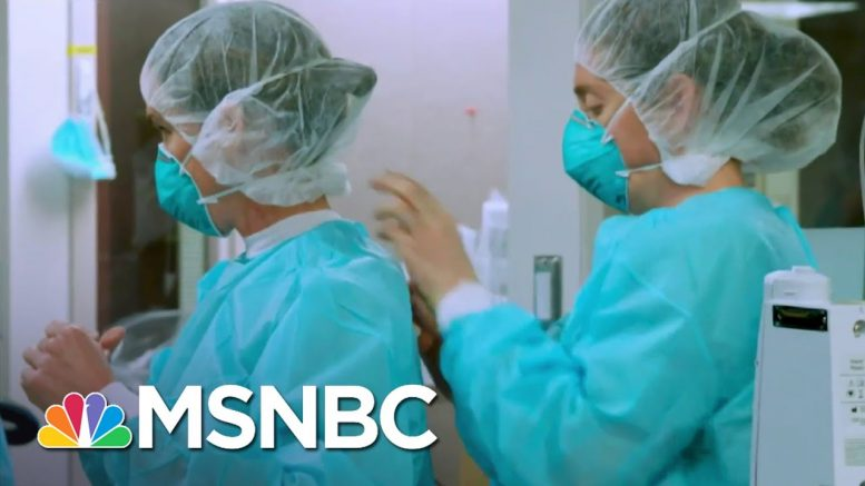 Mutated Coronavirus Under Scrutiny For Ease Of Transmission | All In | MSNBC 1