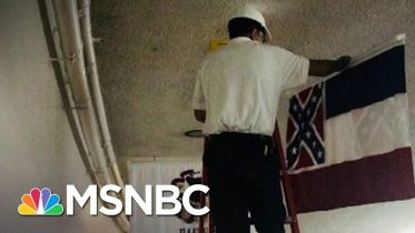 Retired Mississippi Flag Removed On Capitol Hill | The 11th Hour | MSNBC 1
