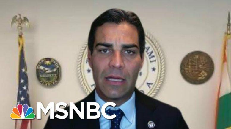 Miami Mayor Says Gyms Closing, Indoor Dining To Halt   Morning Joe   MSNBC 1