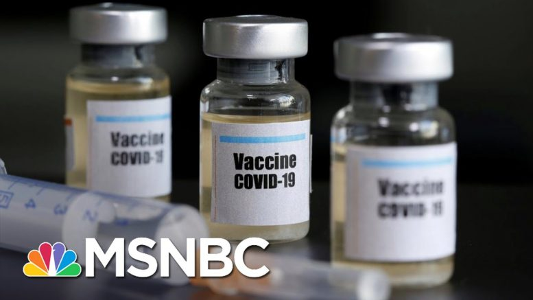 How Close Are Scientists To Having A Coronavirus Vaccine? | The 11th Hour | MSNBC 1