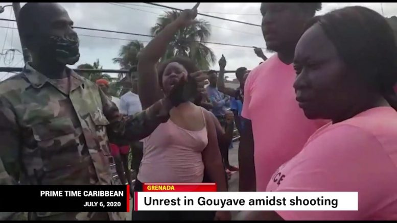 INVESTIGATION PROMISED AFTER GOUYAVE SHOOTING, PROTEST 1