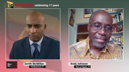 JOURNALIST ANDY JOHNSON speaks of upcoming Trinidad elections and protests 5