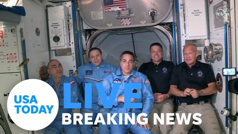 USA Today speaks with astronauts on ISS 1