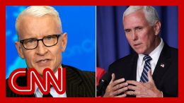 Anderson Cooper slams 'lies and noise' from Mike Pence 1