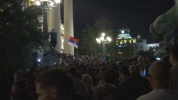 Violent protests in Serbia against new COVID-19 curfew 2