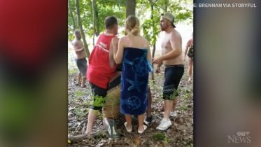 FBI investigating allegation Black man pinned to a tree in racist attack in Indiana 6