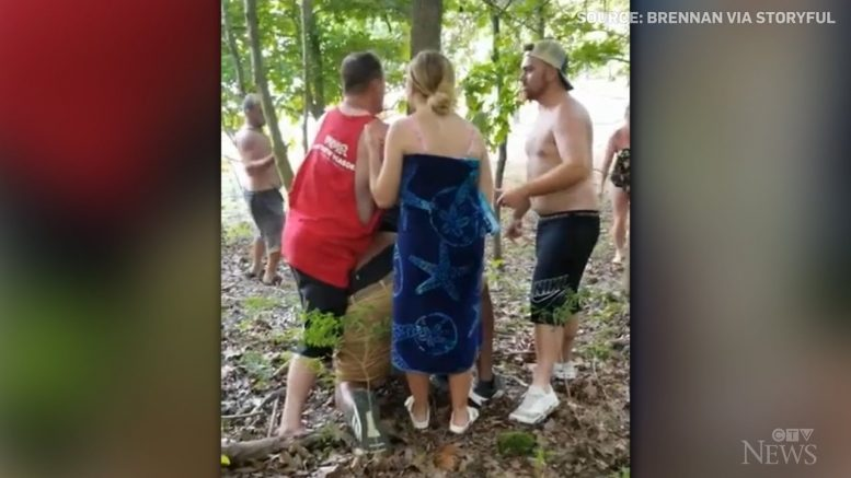 FBI investigating allegation Black man pinned to a tree in racist attack in Indiana 1