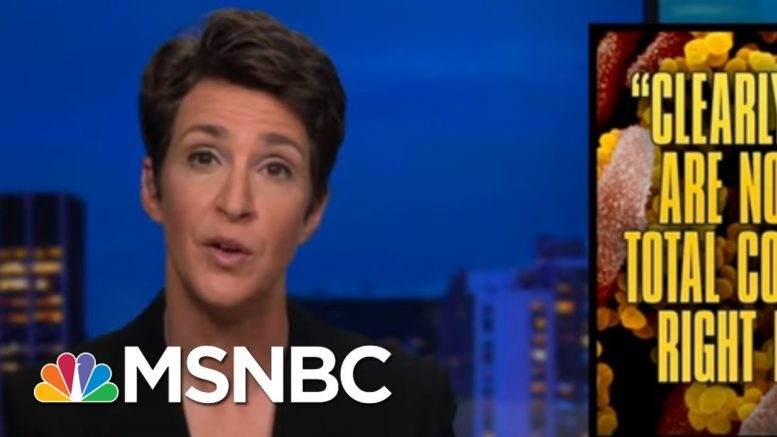 Reminder: Shudowns Are To Reduce Contacts And Control Spread | Rachel Maddow | MSNBC 1