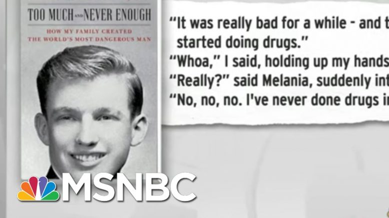 Donald Trump Lies With Ease: Recurring Theme In Niece's New Book | Rachel Maddow | MSNBC 1