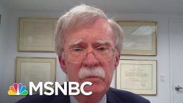 Bolton: Trump 'Doesn't Pay Much Attention' To Intelligence, & Is 'Dangerous For The Country' | MSNBC 1