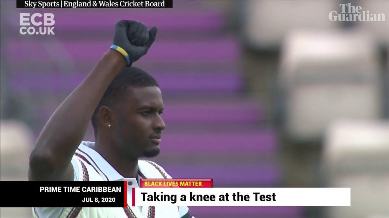 TAKING A KNEE AT THE TEST 1