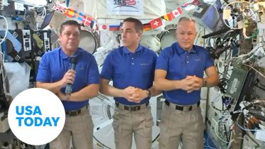 History-making astronauts aboard the International Space Station discuss return to Earth | USA TODAY 6