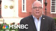 State Won't Be 'Threatened' To Reopen Schools, Says Maryland Gov. | Morning Joe | MSNBC 3