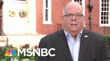 State Won't Be 'Threatened' To Reopen Schools, Says Maryland Gov. | Morning Joe | MSNBC 6
