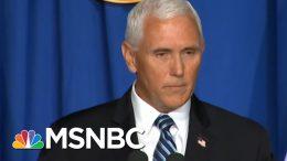 Pence Falsely Claims Arizona Hospitalizations On Decline | Morning Joe | MSNBC 4