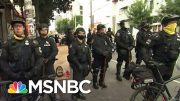 Seattle Police Clearing Out Capitol Hill Occupied Protest Zone After Mayor's Executive Order | MSNBC 4