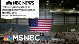 White House Under Fire As Yet Another Russia Scandal Develops - Day That Was | MSNBC 8