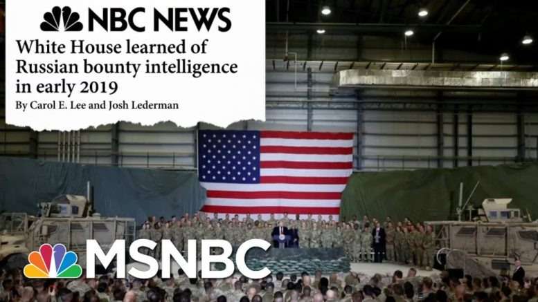 White House Under Fire As Yet Another Russia Scandal Develops - Day That Was | MSNBC 1