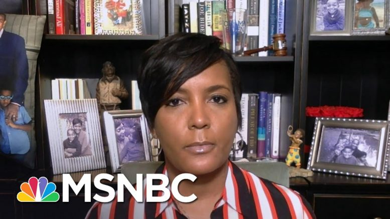 Keisha Lance Bottoms: Gov. Kemp's 'Leadership Has Been Irresponsible' | Andrea Mitchell | MSNBC 1