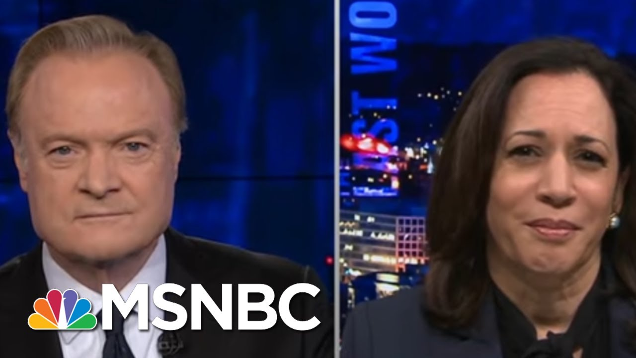 Sen. Harris: Trump Does Not Feel That Black Lives Matter | The Last Word | MSNBC 4