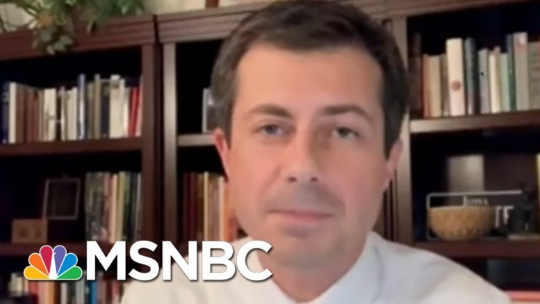 Pete Buttigieg: Trump Doesn't Seem To Care About Protecting U.S. Troops | The 11th Hour | MSNBC 1