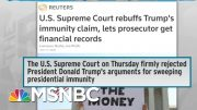 SCOTUS Rejects Presidential Immunity; Renders Trump Regular | Rachel Maddow | MSNBC 2