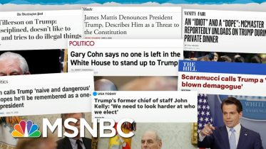 Trump Scandals Pass By, Lose Spotlight To New Trump Scandals | Rachel Maddow | MSNBC 6