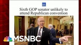 Sixth GOP Senator Says Unlikely To Attend RNC | Morning Joe | MSNBC 2