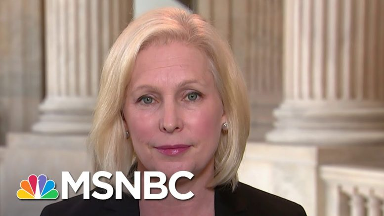 Sen. Kirsten Gillibrand: Trump Is 'Failing' As Commander In Chief | Andrea Mitchell | MSNBC 1