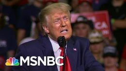 Storm Delays Trump New Hampshire Rally, Campaign Official Says Trump Avoiding Tulsa Repeat | MSNBC 1