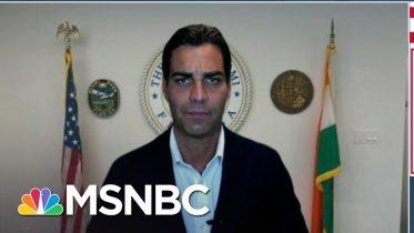 Miami Mayor Francis Suarez: 'Communication Is The Best Vaccine' | MSNBC 6