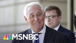 Trump: I'll Be Looking At A Pardon For Roger Stone | MSNBC 9